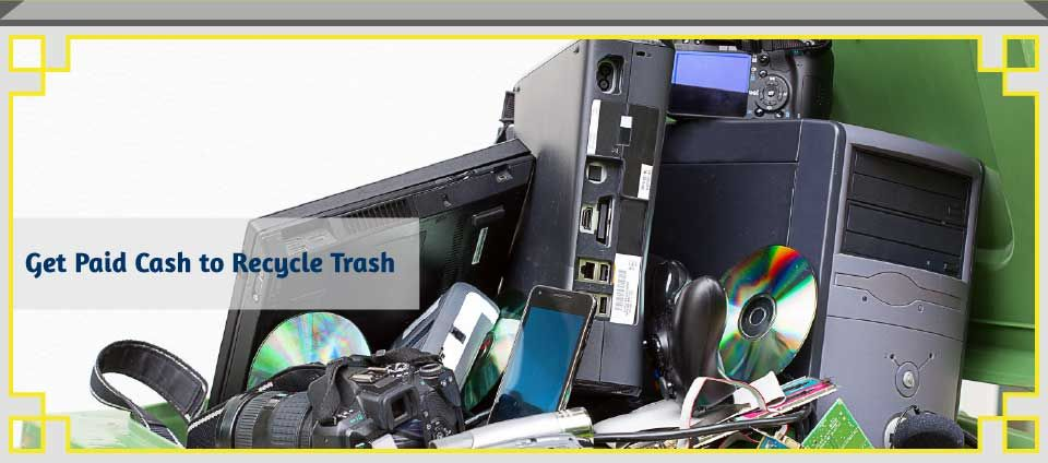 Get Paid Cash to Recycle Trash - small electronics