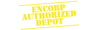 Encorp Authorized Depot stamp